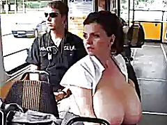 See: Woman on bus pumping b...