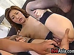 Sexy asian toyed with ... preview