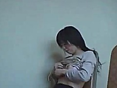 Voyeur Hit - Cute Japanese gal mast...