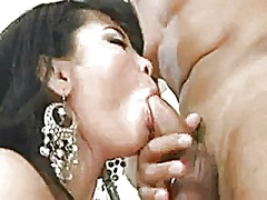 Asian mature gets fucked in all her h...