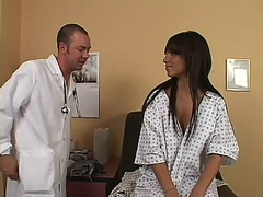 WinPorn Movie:Busty brunette's diagnosis is ...