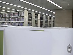 Aw pov in the library video