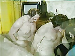 threesome, hairy, group