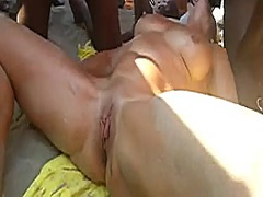 Exposed Beach - Squirting ... - 06:27