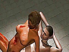 Hot 3d zombie honey getting fucked deep and hard