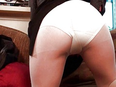 Pantyhosed business milfs ... - 18:30