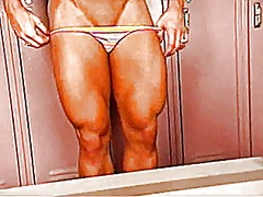 Muscular woman - Xhamster