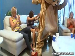 male, party, clothed, female, orgy, cfnm, naked