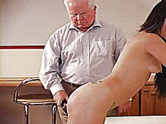 Xhamster Movie:Strap and cane