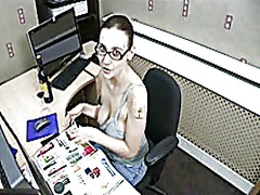 Downblouse Working Late video