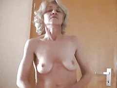 Private Home Clips Movie:Skinny Gilf Takes on a Youthfu...