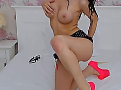 Vporn Movie:Shemale Hottie Plays her Big H...