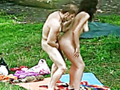 Spying Stripped Pair i... video