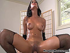 Xhamster Movie:Hot chloe amour sucks masseurs...