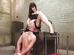 Yobt Movie:Bald male dominated by prick p...