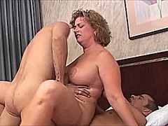 Xhamster Movie:Chubby mom gets dp'ed by two y...