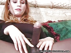 Thumb: Frisky chick exposes b...