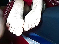 Xhamster Movie:Cumming gf's soles