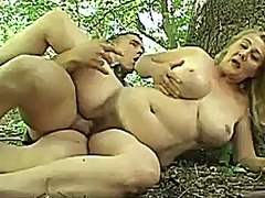Mature fucked in the f... video