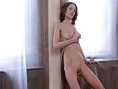 Wetplace Movie:Virginie with bald beaver has ...