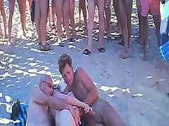 voyeur swinger beach sex video