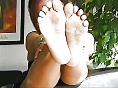 Lady b foot tease from Xhamster