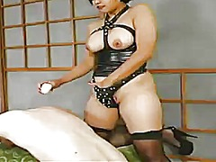 Bound and clothespin torture inside female domination vid not far from mika tan