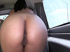 Babe is driving hunk crazy with her cock sucking