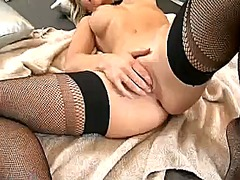 Thumbmail - Smoking cute blondie k...