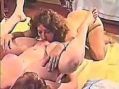 Our wives first time having lesb...
