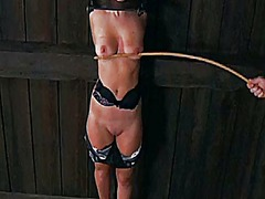 Ah-Me - Gagged and tied up bea...