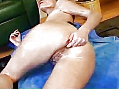 Oiled,masturbation,fisting and...