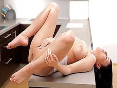 See: Buxom babe lucy li get...