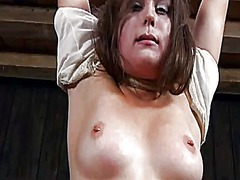 Thumb: Caged beauty gets a wh...