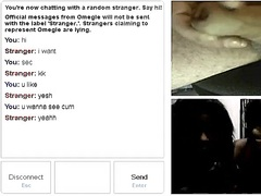 Omegle chat & cum video