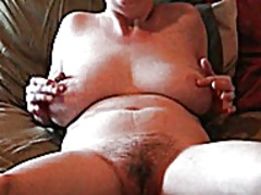 See: Milf teases herself fo...
