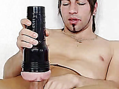 H2porn Movie:Solo twink huge hammer and cum
