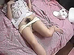 Japanese gal plays wit... - Voyeur Hit
