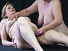 Xhamster - Another couple of big lesbian grannies 2