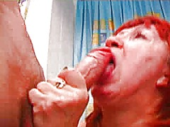 Russian mature and boy... video