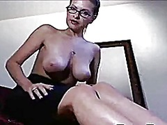 milf, webcam, solo,