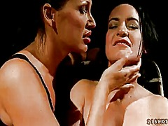 Wetplace Movie:Brunette barbie pink loves get...