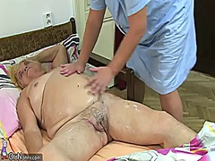 Xhamster Movie:Fat bbw granny have sex with c...