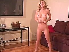 Hot blonde heather van... video