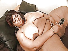 Xhamster Movie:Ebony plumper with big tits
