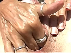 My wet hairy pussy in ... video