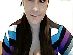 Big breast tease by girl - Xhamster