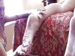 Xhamster Movie:Lesbian bella licking macy's s...