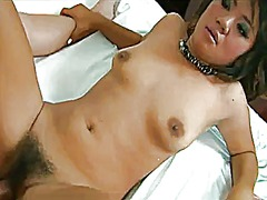 Hairy and wet asian ba... video