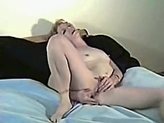 Private Home Clips Movie:My wife playing
